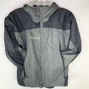 Columbia Titanium Omni-Tech Jacket Youth Boy's 8